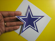 """BEST PRICE!! LOT OF 10 NFL DECAL / STICKER DALLAS COWBOYS 5"""" X 5"""""""