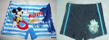 Mickey Mouse Swim Trunks Swimwear Shorts SZ 1-6