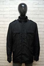 MONCLER Uomo 2XL Giubbino Giaccone Giacca Giubbotto Cappotto Piumino Jacket Nero