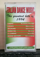 ITALIAN DANCE MUSIC THE GREATEST HITS OF 1994 - MUSICASSETTA ITALO DISCO