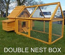 CHICKEN HEN HOUSE COOP POULTRY ARK RUN BRAND NEW RABBIT HUTCH 600 PLUS RUN