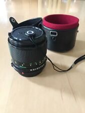 Canon FD 85mm f/1.8 Lens And Original Leather Case