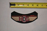 2001 Hog Harley Davidson Owners Group MotorCycle Cloth Jacket Patch New NOS