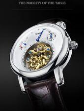 Switzerland Luxury Brand Nesun Hollow Tourbillon Watch Men Automatic Mechanical