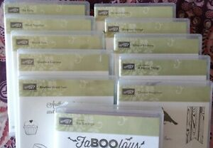 Stampin' Up UNUSED Unmounted Stamp Kits - Your Choice!! $16-$18 FREE SHIPPING!!