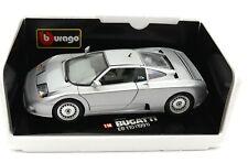 Bburago cod. 3045 Bugatti EB 110 (1991) Silber OVP 1:18