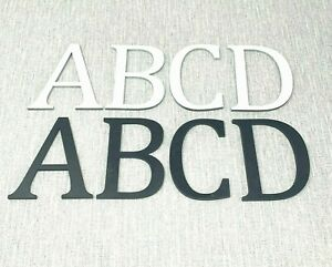 Wooden Letters Painted Various Colours Large Small 5cm-40cm 4mm Thick MDF Home