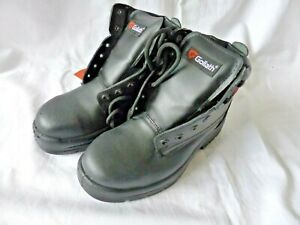 Safety Boots Size 3 Eur 36 Goliath Non Metal Lace Up S3 Derby Safety Boots Black
