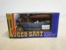 Russo-Balt C24-40 USSR 1:43 Diecast Blue Car