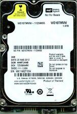WD10TMVW-11ZSMS5,  DCM:  HHMT2HNB  WESTERN DIGITAL USB3 1TB  WX11  AUG 2012