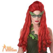 Adult Long Wavy Brunette Brown Seduction Costume Wig