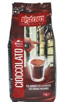 1 Kg Cioccolato  Polvere Solubile Ristora  per Distributori Bar Casa