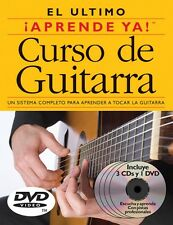 Aprende Ya Curso de Guitarra - 3 Books 3 Cds 1 Dvd Boxed Set Book and 014001985