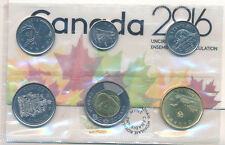 2016 Canada RCM uncirculated Mint Coin Set