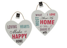 Loving Hearts wall Modern Placard Sign Message Home Decoration -809019