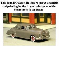 """HO SCALE: 1949 OLDSMOBILE """"ROCKET 88"""" 4-DOOR SEDAN by Sylvan-Kit V-168"""