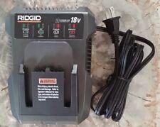 18v Ridgid Rigid Hyper Li-Ion Battery Charger 18 volt Model R86092