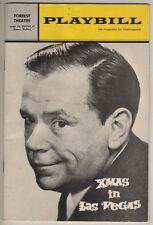 "Tom Ewell  ""Xmas in Las Vegas"" Tryout  Playbill 1965  FLOP  Philadelphia"