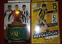2017-18 Panini Select + Revolution Soccer Hanger Box lot Chase Rare Inserts +