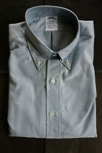 NWOT Brooks Brothers Green Supima Oxford Button Down 14.5-32 Regent MSRP $140