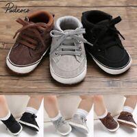Zapatos De Bebé Recién Nacido Con Suela Suave Zapatillas De Algodón Niño Deporte