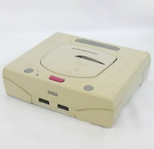 "Sega Saturn JUNK WHITE Console ""System Only"" HST-3220 Not Working B65018100"
