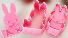 Miffy the Rabbit Cookie Cutter Press 2 pc Set - NEW