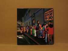 Weather Report 8:30 double live 1979 LP - vinyl Excellent  Play Tested, Jazz