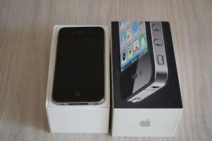 Iphone 4 Black 16gb O2 Network Fully Working Plus Equipment Box