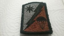 82nd Sustainment Brigade ACU Patch