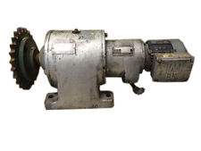 2 Stage Gear Reduction Unit, SEW-EuroDrive 18.91844.9/01 1/5hp Electric Motor