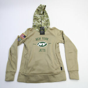 New York Jets Nike Dri-Fit Sweatshirt Women's Tan/Camouflage New with Tags