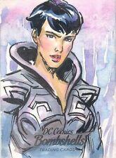 2019 Cryptozoic DC Comics Bombshells Series 3 Fabian Quintero Sketch card Faora