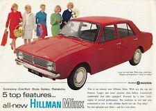 HILLMAN New MINX ~ 1967 Brochure ~ Original Sales Advertising Catalogue