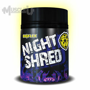 BioFlex Nutrition Night Shred - 30 Serves - Fat Burning Sleep Formula