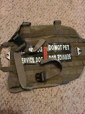 Service dog vest large has some marks