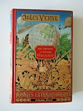 """Jules Verne Hetzel  """" Les Enfants du Capitaine Grant """""""