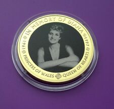 Diana Princess Of Wales 20th Anniversary Coin 1997 2017 Proof Medal Coin -Mint