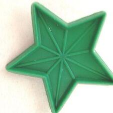"""Green 3"""" Star Cookie Cutter Art Mold"""