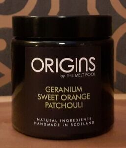 Origins by The Melt Pool - Geranium, Sweet Orange and Patchouli Jar Candle
