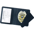 Strong Leather Company Duty Side Open Badge Case 18 - 74800-0182 ID Holder