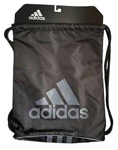 adidas Burst II Sackpack Gym Bag Black/Onix Drawstring