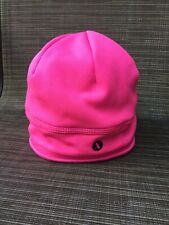 Xersion Pink Fleece Beanie Hat Warm Thermal Cycling Running Cap