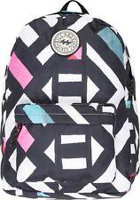* NEU * Billabong Damen Alle Tag Rucksack-schwarz/weiß/rosa Streifen-f9bp01