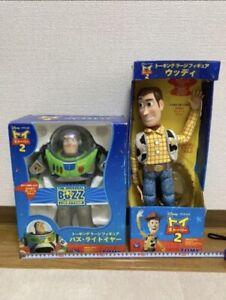 Toy Story2 Buzz Lightyear Woody Talking Figure Set