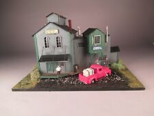 HO Scale FOS Scale Sarno Woodwork Custom-Built, Lighted, Mint Model Building
