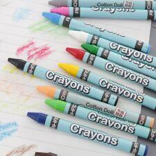 1 Set Wax Crayon Stick Kid Painting Drawing Sketching Art Tool 8/12/24 Colors