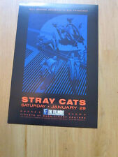 STRAY CATS Fillmore concert poster 13x19 1989