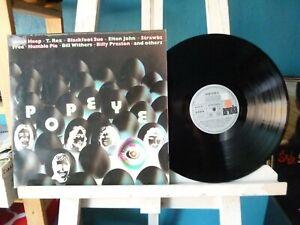 Popeye 2 - Uriah Heep - free - T.Rex - Humble Pie - u.a. - Doppel Lp