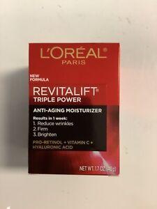 L'Oréal Revitalift Triple Power Deep Active Moisturizer 1.7 Oz. Free Shipping.